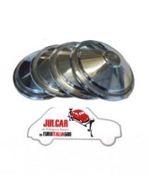 4 coppe ruota in acciaio Fiat 500 L