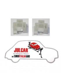 Coppia supporti lampadina Fiat 500 F/L/R