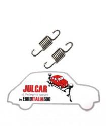Coppia mollette puntine contatti spinterogeno Fiat 500