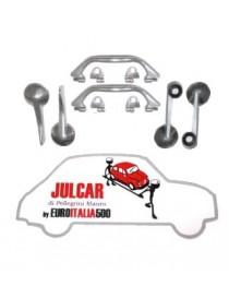 Kit maniglie interne in alluminio alta qualità Fiat 500 F