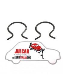Coppia mollette fissaggio maniglie alza vetro Fiat 500 F/L/R