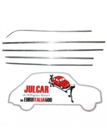 Kit completo modanature in alluminio Fiat 500 N/D
