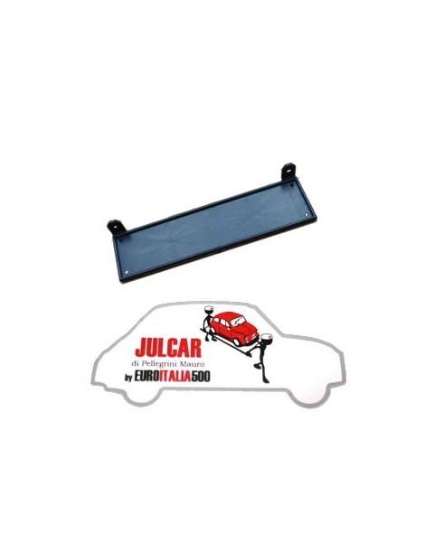 Porta targa anteriore in plastica Fiat 500