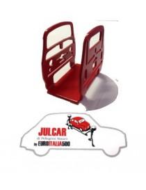 Fermacarte rosso Fiat 500