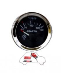 Strumento temperatura olio nero Abarth Ø 52 mm Fiat 500