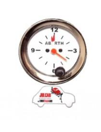 Strumento orologio bianco Abarth Ø 52 mm Fiat 500