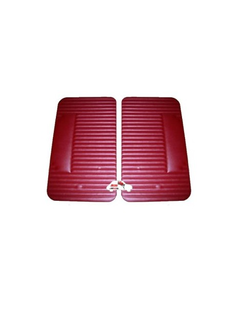 Coppia pannelli porta anteriori Fiat 500 L bordeaux  Alta Qualità