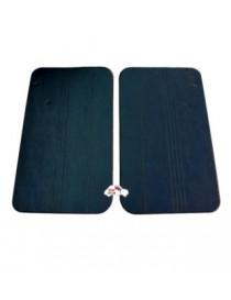 Coppia pannelli porta anteriori Fiat 500 R neri Alta Qualità