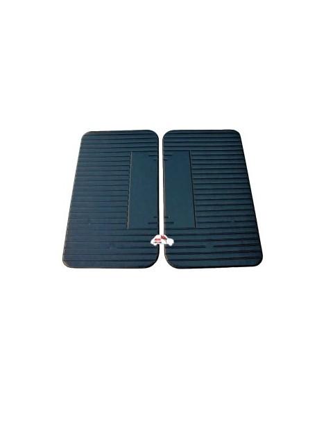 Coppia pannelli porta anteriori Fiat 500 L neri Alta Qualità