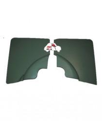 Coppia pannelli posteriori Fiat 500 F verdi