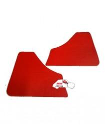 Coppia pannelli posteriori Fiat 500 F1^ rossi in Vipla