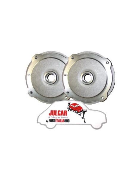 Coppia tamburi freno anteriori Fiat 500 N / D / F / L / R