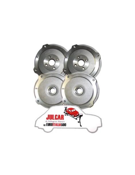 Kit 4 tamburi freno anteriori e posteriori Fiat 500 N / D / F / L / R