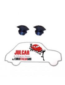 Coppia tappi oliatore serratura porta Fiat 500