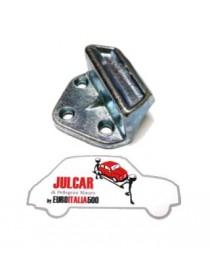 Scontro porta su carrozzeria Fiat 500 N/D/Giard