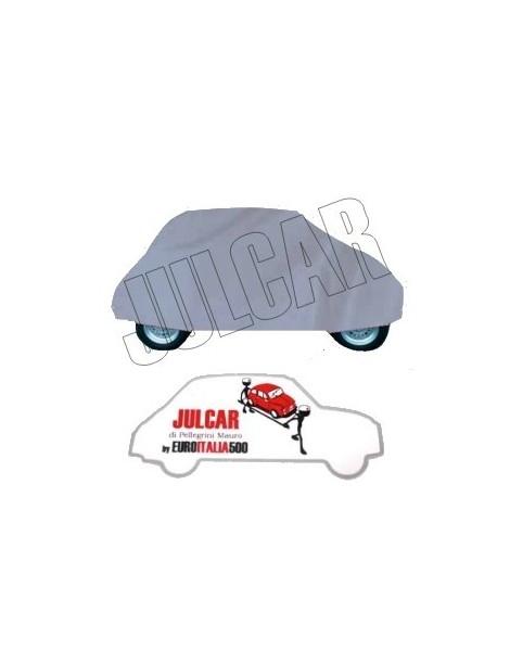 Telo copriauto da esterno grigio Fiat 500