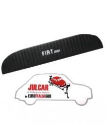 Pannello mensola lunotto posteriore nero con scritta bianca Fiat 500 L