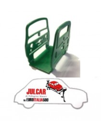 Fermacarte verde Fiat 500