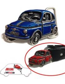 Fibbia cintura blu Fiat 500
