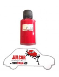 """Vernice ritocco carrozzeria cod. 115 """" Rosso Medio """" da 30 ml Fiat 500"""