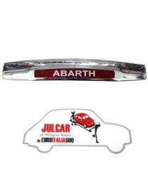 Fanalino luce targa posteriore Abarth Fiat 500 / 600