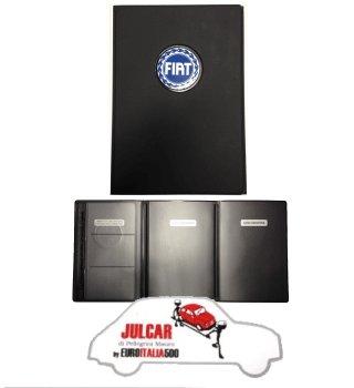 nuovo concetto d617d ad00e Portadocumenti auto Fiat 500 - Julcar 500 S.r.l. - ricambi ...