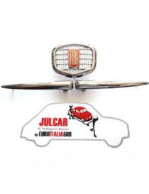 Fregio anteriore in metallo cromato Fiat 500 F