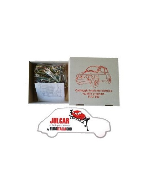 Cablaggio elettrico qualità Asi Fiat 500 Giardiniera