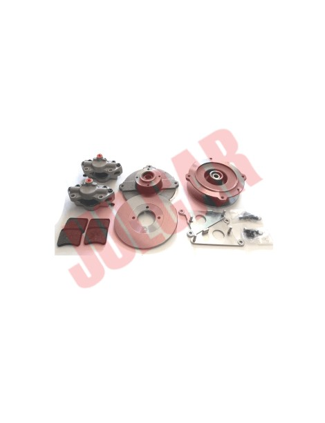 Kit completo per modifica freni a disco Fiat 500
