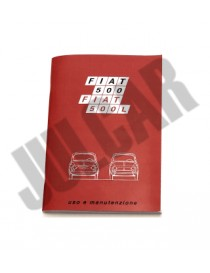 Libretto uso e manutenzione Fiat 500 L