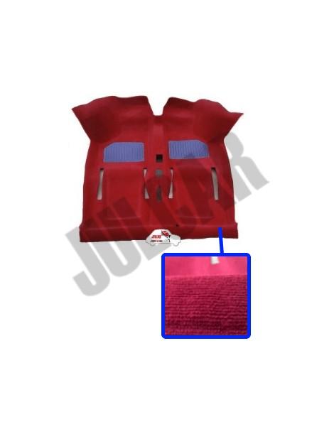 Moquette rossa in Bouclè alta qualità Fiat 500
