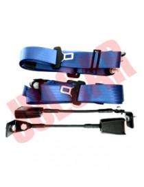 Cinture di sicurezza Omologate blu statiche Fiat 500