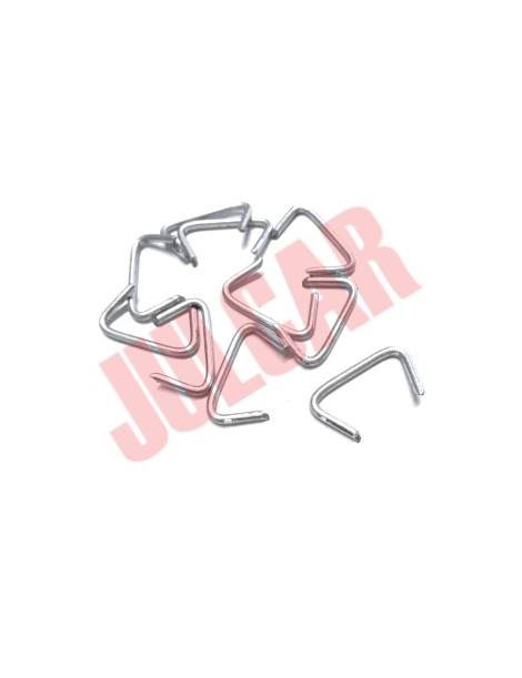 Kit 10 clips fissaggio fodere sedile posteriore Fiat 500