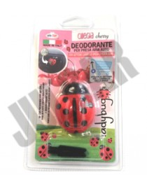 Deodorante presa d'aria con moneta per carello gusto ciliegia