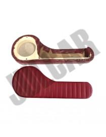Coppia tasche con predisposizione casse stereo nere Fiat 500 L