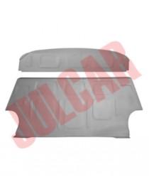 Lamierato riparazione schienale posteriore e cappelliera Fiat 500