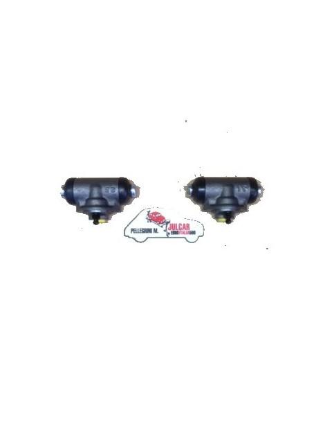Coppia cilindretti freno posteriori Fiat 500 F/L
