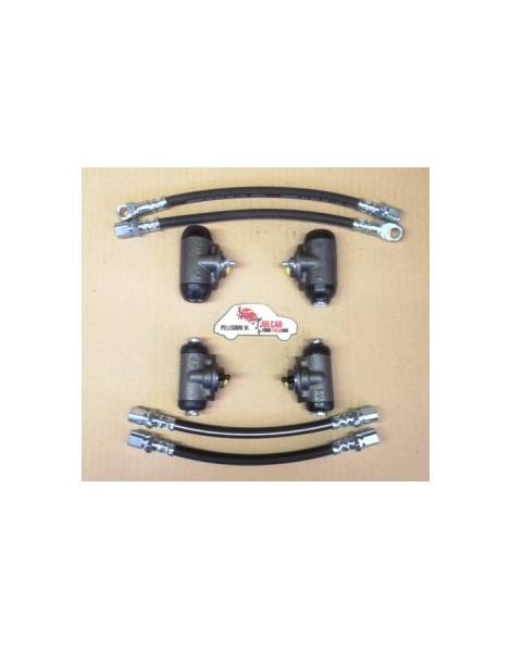 Kit freni Fiat 500 F/L (8 pz)