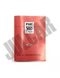 Libretto uso e manutenzione Fiat 500 N