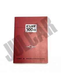 Libretto uso e manutenzione Fiat 500 D