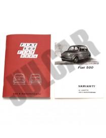 Libretto uso e manutenzione Fiat 500 R