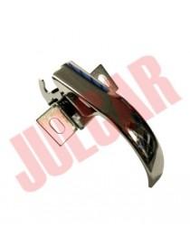 Maniglia cofano posteriore cromata senza chiave Fiat 500 F/L/R