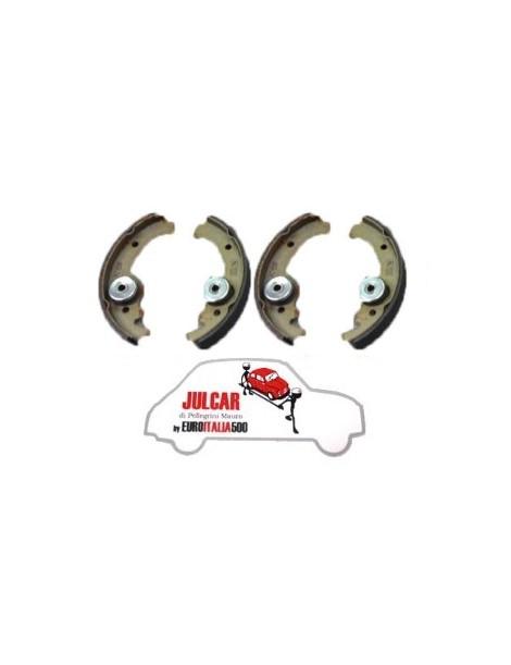 Kit 4 ganasce freno Fiat 500 N/DF/L/R