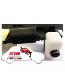 Kit staffa fissaggio vaschetta olio freni e scatola portafusibili Fiat 500