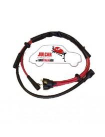 Cavi candela rossi bobina sinistra Fiat 500 N/D/F 1^