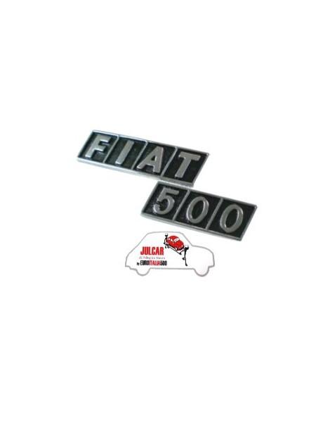 Fregio posteriore Fiat 500 R in zama