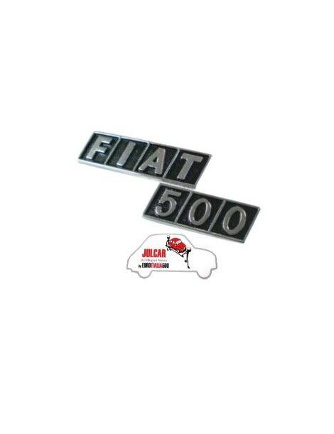Fregio posteriore Fiat 500 R in plastica