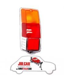 Plastica fanale posteriore sinistro modello LISCIO Fiat 500 F/L/R