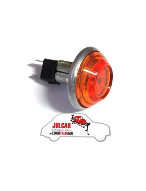 Freccia lucciola laterale arancione Fiat 500