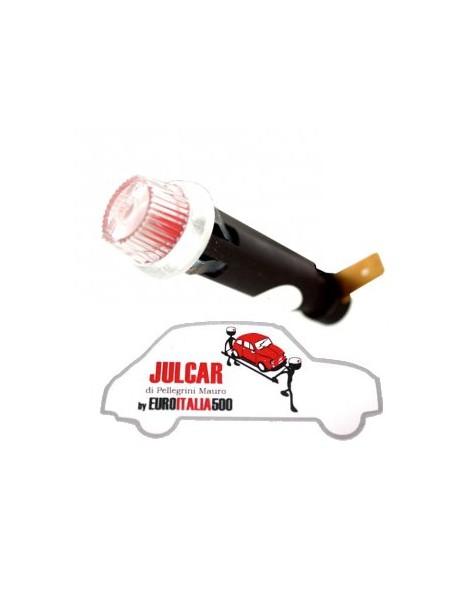 Spia cruscotto con luce a led rossa Fiat 500